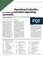 Ericsson Diameter Signaling Controller