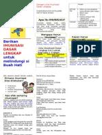 Leaflet Imunisasi Puskes Dr Nabila