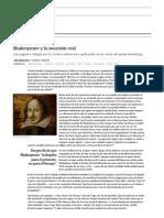 Shakespeare y La Sucesión Real