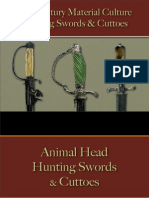 Military - Arms & Accoutrements - Swords - Hunting Swords & Cuttoes