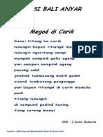 Puisi Bali Anyar 2