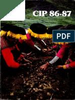 CIP Informe Anual 1986-87