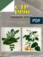 CIP Informe Anual 1990