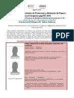 Solicitud AbstractPaper Ponencia ITSMF - GigaTIC2015 V1