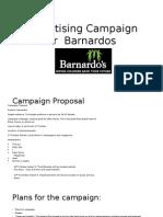 Advertising Campaign for Banardos