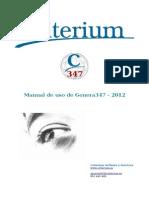 Manual de Genera347 2012