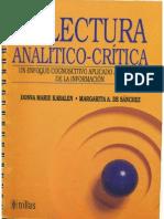 La Lectura Analítico-Crítica