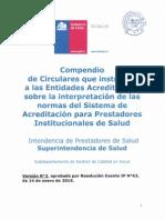 Compendio Circulares Aclaratorias