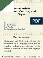 Behaviorism ppt