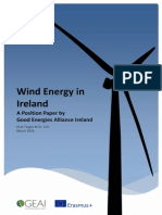 GEAI Position Paper on Wind Energy