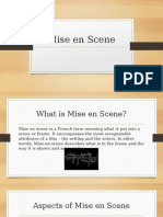 Mise en Scene Revision Document