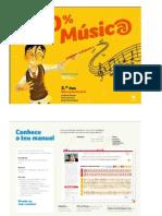 100 Música - Educação Musical 5 Manual