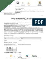 ANEXA 1 Formular Inregistrare
