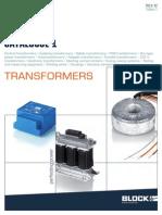 Block Katalogus 1 2011 12 Transzformatorok