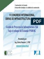 Gestion de Proyectos de Infraestructura Vial