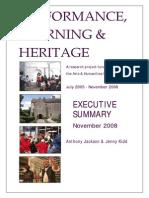 Performance, Learning & Heritage - Executive Summary.pdf