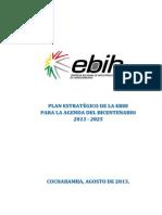 Plan Estrategico EBIH Agenda Bicentenario 2025