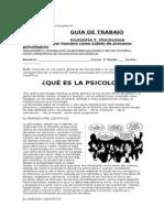 Guía 1 Psicología 3ro Medio