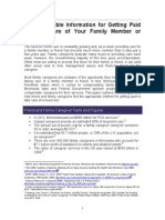 Learn Valuable Information for Getting Paid to Take Care of Your Family Member or Friend