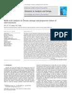 Multi-scale Analyses on Seismic Damage and Progressive Failure Of