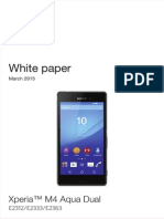Whitepaper en e2312 e2333 e2363 Xperia m4 Aqua Dual