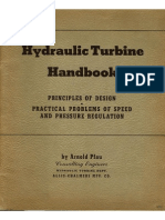 Hydraulic Turbines Handbook - Principles of Design - Arnold Pfau - OTIMO - 66 Pg