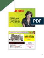 External Feng Shui Afflictions