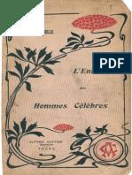 P.L.michelle - L'Enfance Des Hommes Célèbres