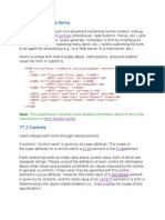 forms of html
