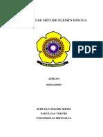 Paper Pengantar Metode Elemen Hingga