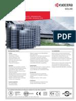 Panel Solar Kyocera