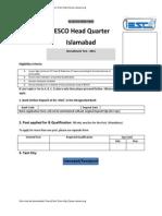 IESCO Application Form v4 20141222