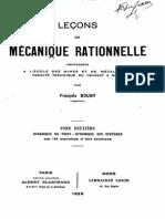 F.bouny - Leçons de Mécanique Rationnelle - T2