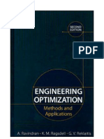 Engineering Optimization, 2nd Ed, Wiley (2006)