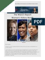 Ward 5 Report 2015 03 09