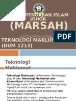 Bab 1 - Teknologi Maklumat