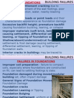 Building Failures Foundations