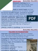Building Failures Foundations