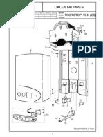 Calentadores Microtop-15