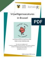 Het Punt Vzw Vacatureblad Voorjaar 2015 Editie 2