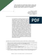 Validação e Aplicação de Método Para Análise Pesticidas h20