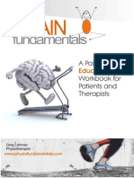 Pain Science Patient and Therapist Workbook 2015
