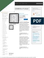 White Dzambhala Plaque