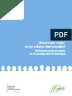 ¿Innovación social en un entorno desfavorable? Reflexiones sobre el estado de la sociedad civil en Nicaragua