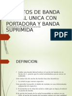 Banda Lateral Unica Con Portadora Suprimida