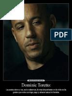 Dominic Toretto Fast Five