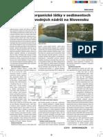 PCB a PAU v Sedimentech Na Slovensku