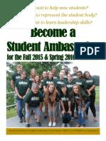 3-10-15 Student Ambassador Poster