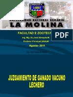 1-Juzgamiento de Ganado Lechero CATEGORIA  B. SWISS y Holstein .ppt