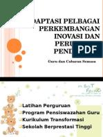 K15 Adaptasi Pelbagai Perkembangan Inovasi Dan Perubahan Pendidikan